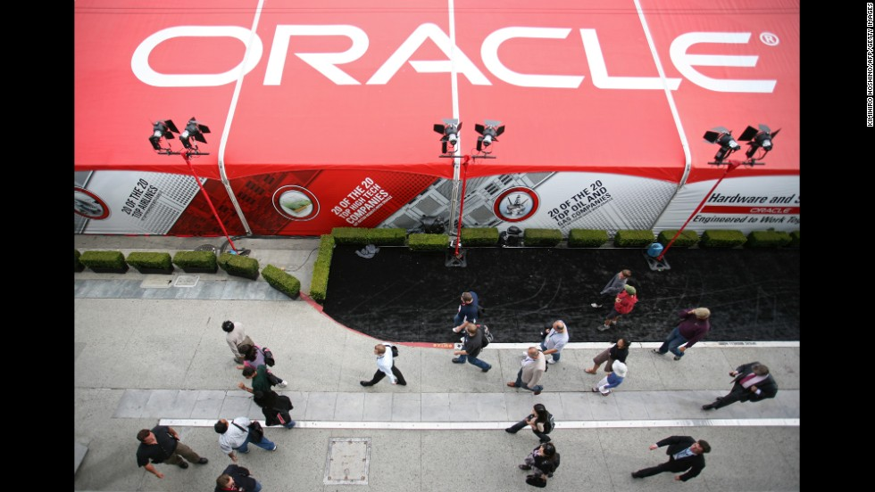 Oracle is another technology company represented in the ranking. It added 8% to its brand value.