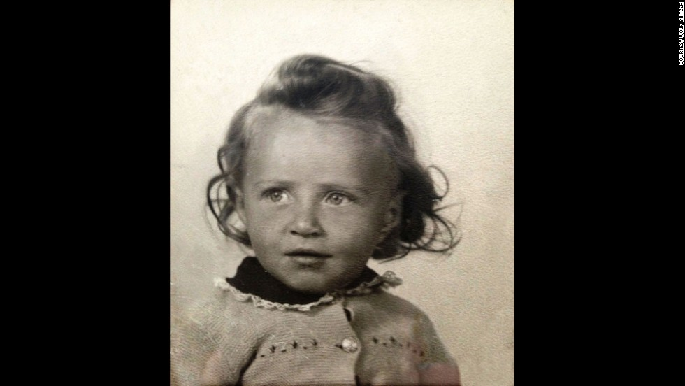 A young Blitzer poses for a photo while living in Germany in the late 1940s. His parents moved there from Poland after World War II.