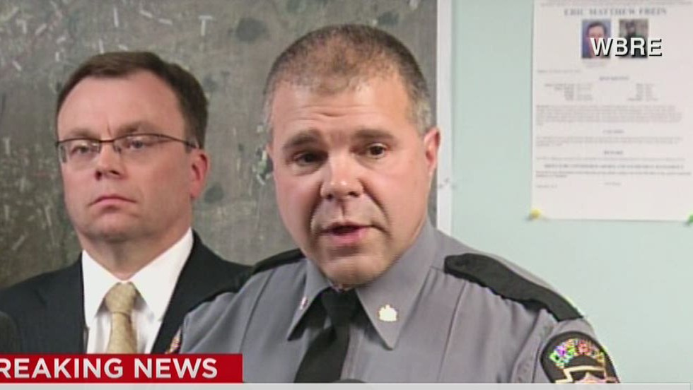 Police read excerpts of notes they say trooper shooting suspect left