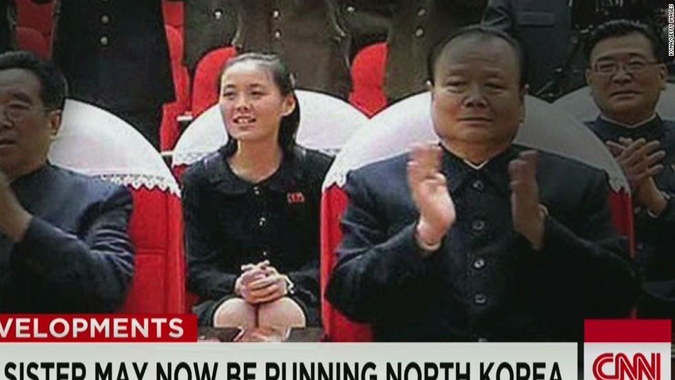 Is Kim Jong Un's sister Kim Yo Jong in charge?