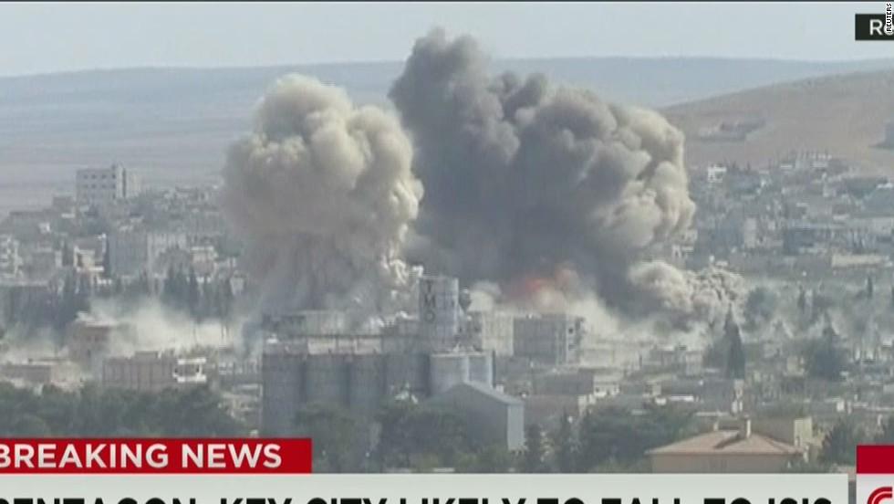 U.S. military: Airstrikes against ISIS won't save key city of Kobani