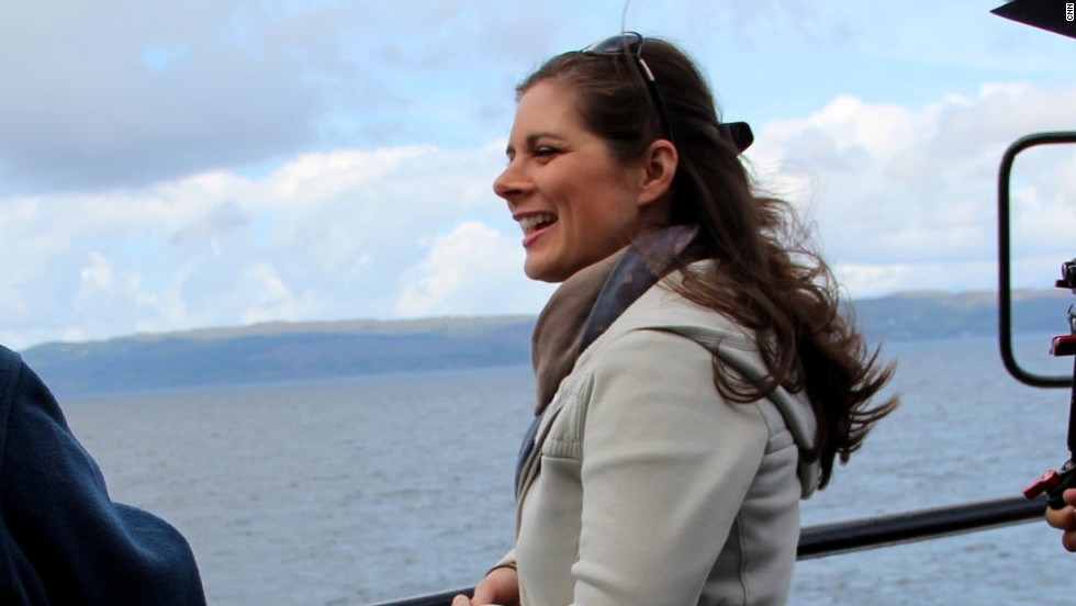 Erin Burnett's journey starts on the farm where she grew up and takes her to a remote Scottish island where she finds distant relatives who still call Scotland home.