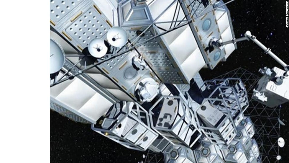 Going up! Cosmic elevator could reach space on a cable made of diamonds