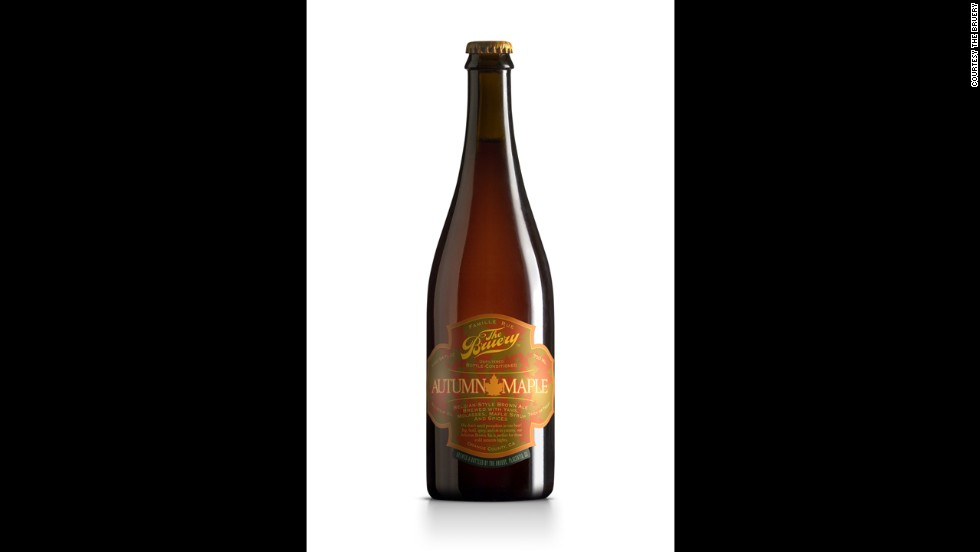 The Bruery's Autumn Maple is a great fall-flavored Belgian style brown ale. (10% ABV)
