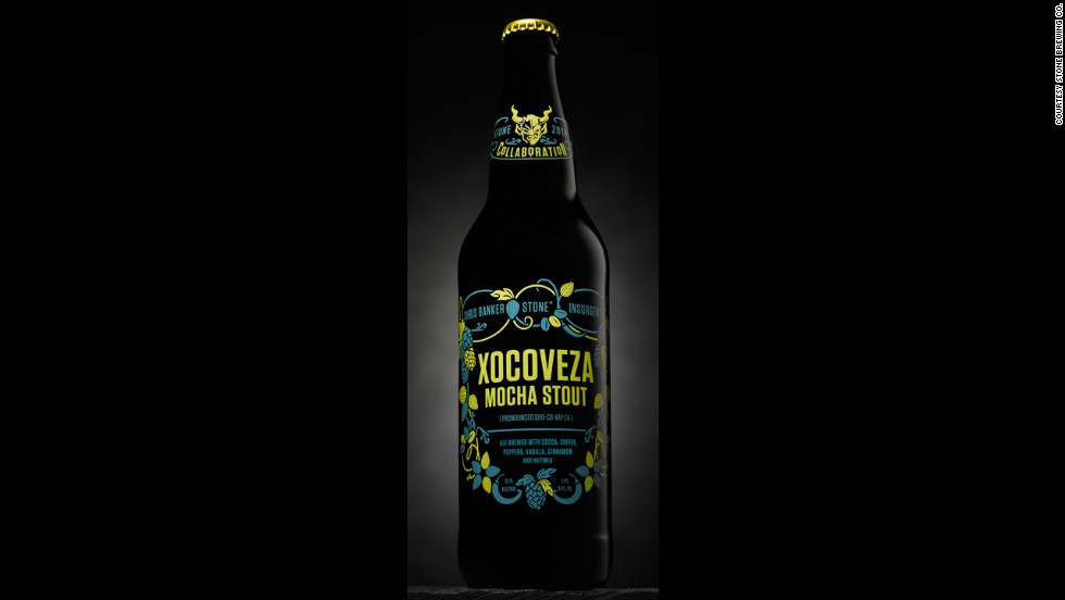 Xocoveza (pronounced sho-co-VAY-za), Stone's milk stout, is a limited run so get one while you can. (8.1% ABVl)
