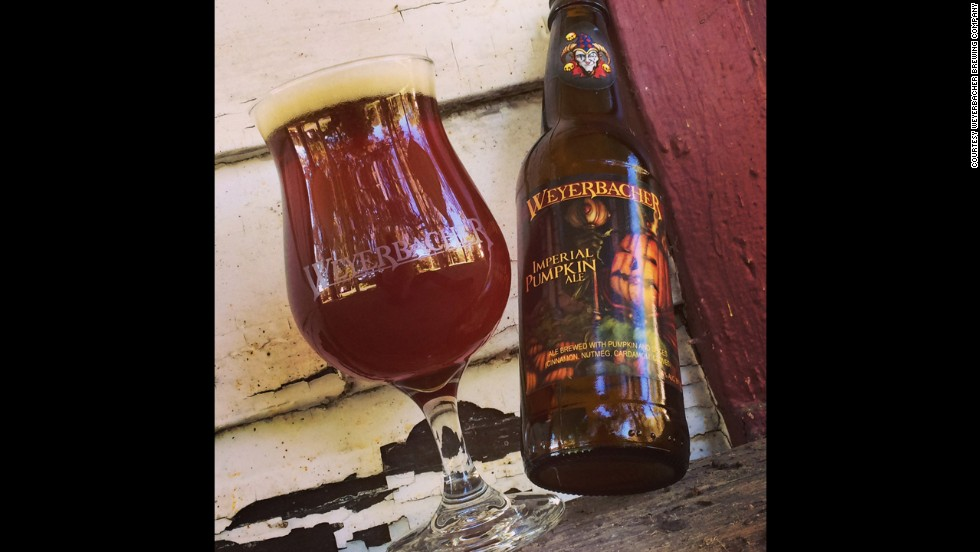 Weyerbacher Brewing's Imperial Pumpkin Ale tastes just like fall should: a baked pumpkin pie (8.6% ABV)