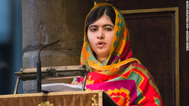 Nobel Peace Prize goes to Malala