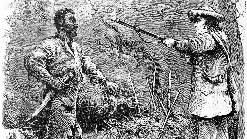 Some historians say the fear of slave revolts, such as the one led by Nat Turner, shaped gun culture and laws in 19th century America.