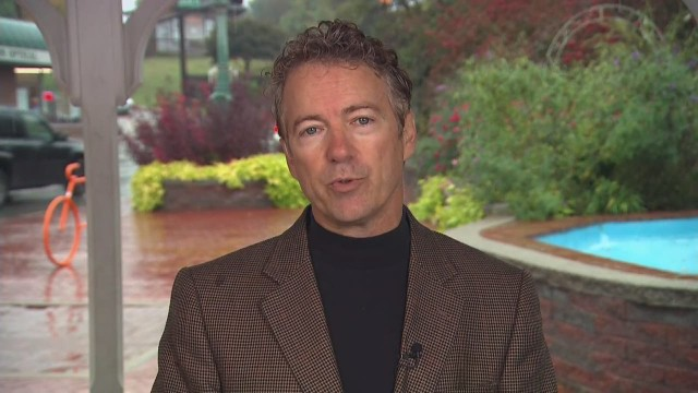 Rand Paul: We shouldn't arm rebels