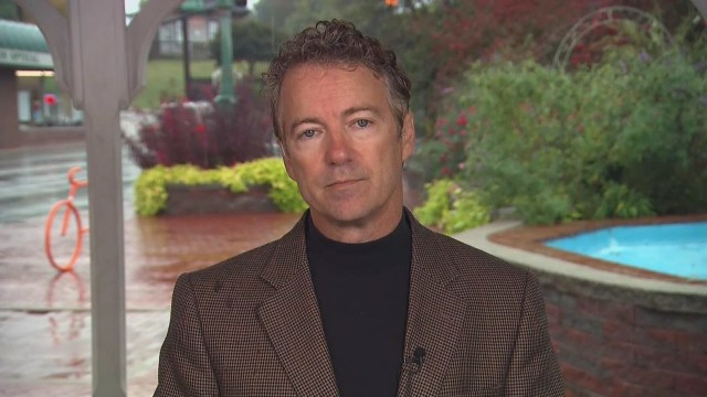 Sen. Rand Paul has said repeatedly that he's considering a run for president in 2016