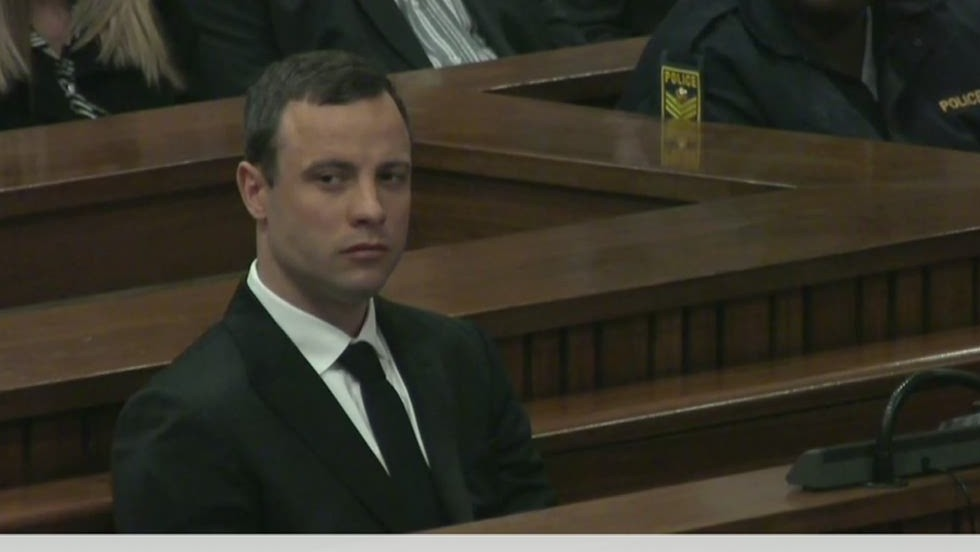 What would Oscar Pistorius face if he's sent to prison?