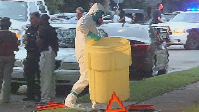Dallas nurse tests positive for Ebola