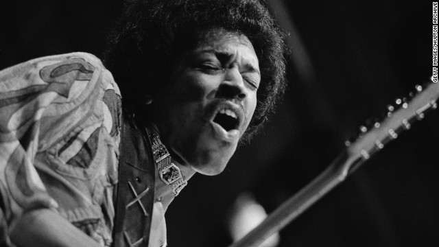 Rolling Stone named Jimi Hendrix the greatest guitarist of all time.