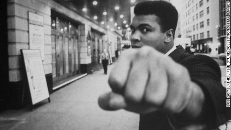 Boxing legend Muhammad Ali