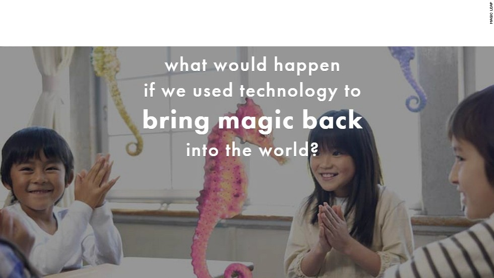 What is the mysterious Magic Leap?