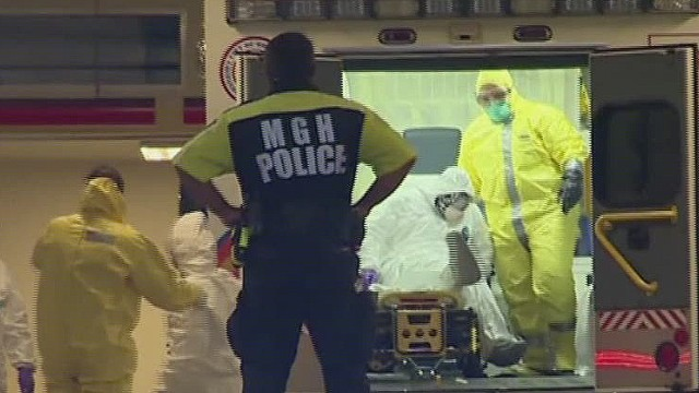 Fear, not Ebola, spreads in U.S.