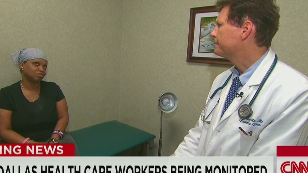 Dallas doctors try to calm Ebola fears