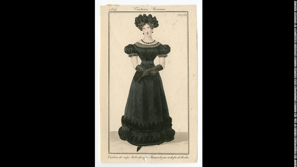 Middle class fashion in victorian era dresses