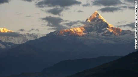 The Annapurna region of the Himalayas in Nepal is extremely popular with hikers.