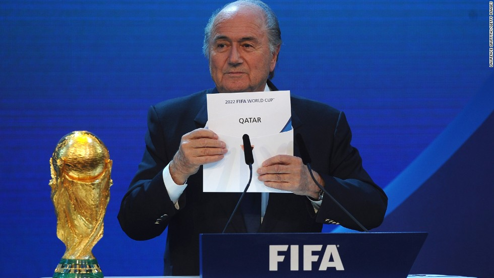 In December 2010, then FIFA president Sepp Blatter revealed Qatar as host of the 2022 World Cup at a ceremony in Zurich, Switzerland. But both Qatar and FIFA soon faced allegations about poor working conditions and abuse of immigrant workers brought in to build the facilities for the tournament.