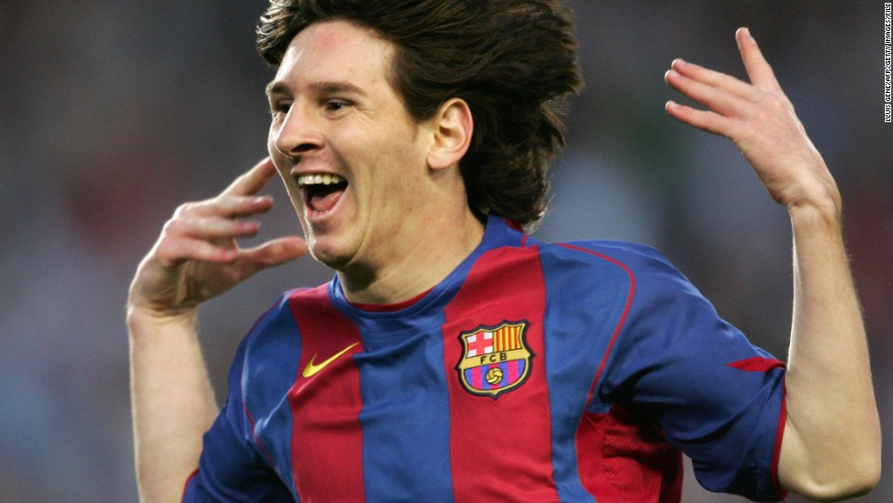 Messi's debut came against Espanyol on October 16, 2004. The 17-year-old came on as a substitute, replacing Portuguese midfielder Deco. The teen sensation would have to wait seven months for his first Barca goal, which came against Albacete on May 1, 2005.