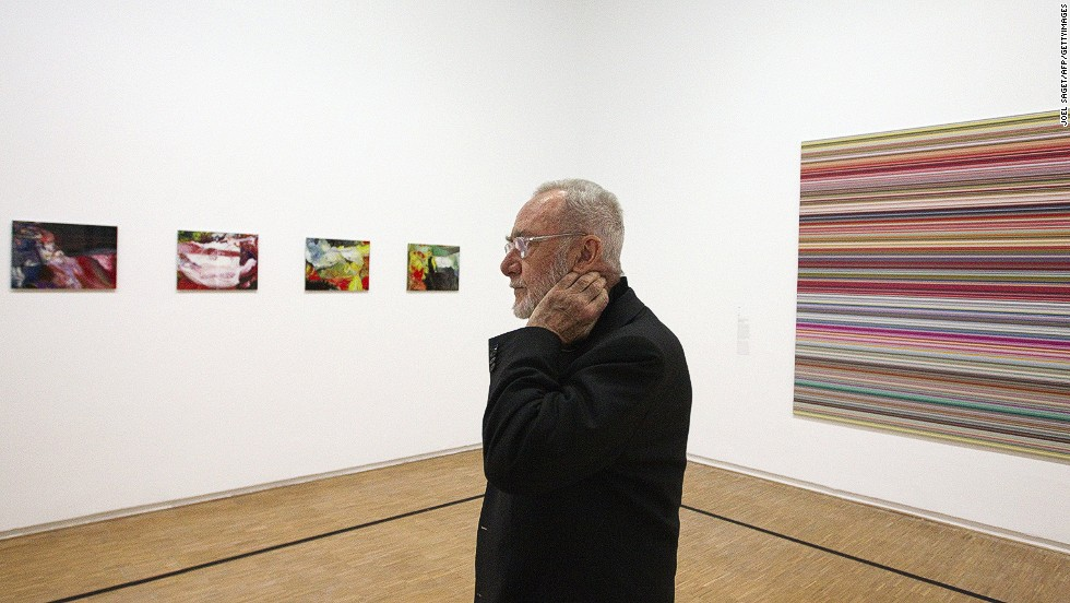 Richter is one of the world's most successful contemporary artists, both critically and financially. Though painting is his primary art form, he's known for experimenting with different media.
