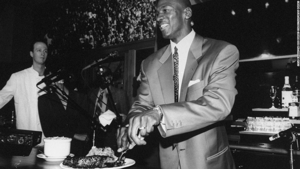 Only the gods know which Chicago loves more, Michael Jordan or steak. You can get a taste of both at Michael Jordan's Steak House on North Michigan Avenue.