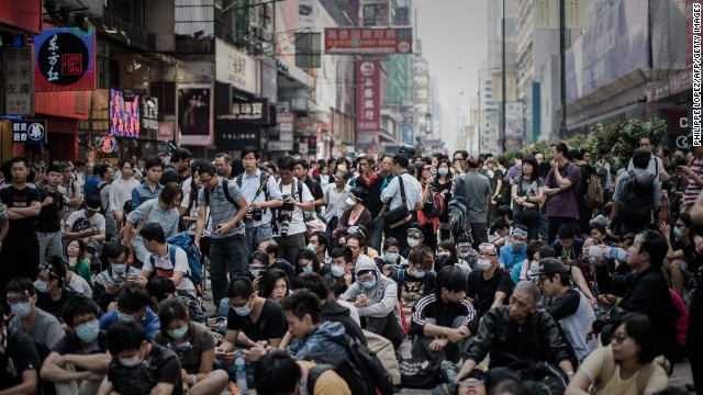 HK protesters retake streets after clash
