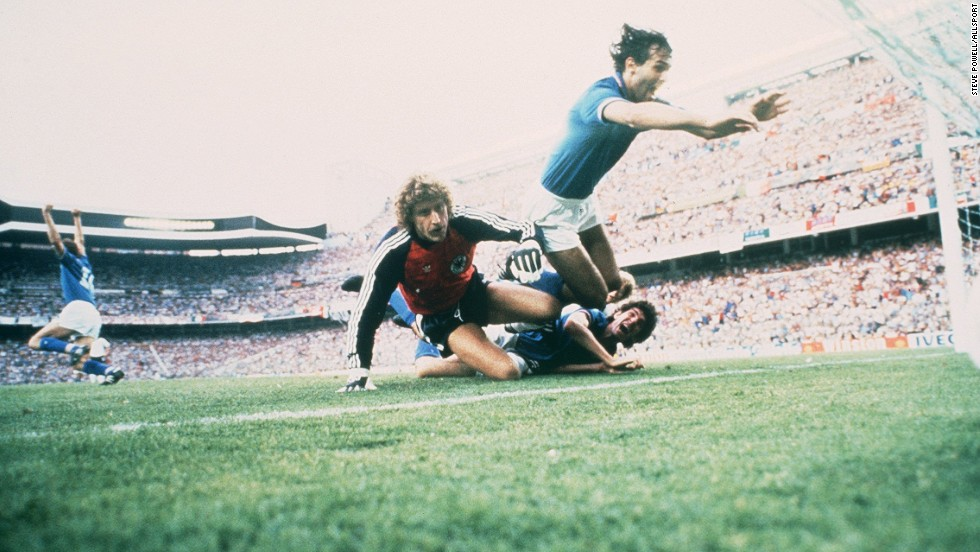 The match was won by Italy, which beat West Germany 3-1 in the only World Cup final the Bernabeu has ever hosted.