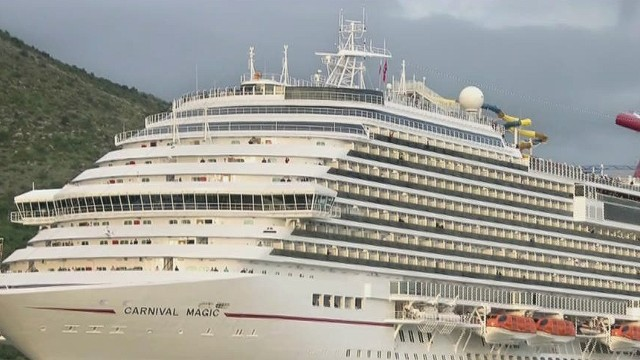 Lab worker quarantined on cruise ship