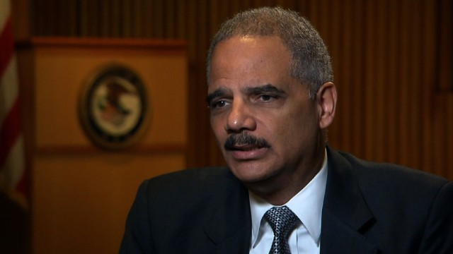 AG Holder reveals his biggest failure