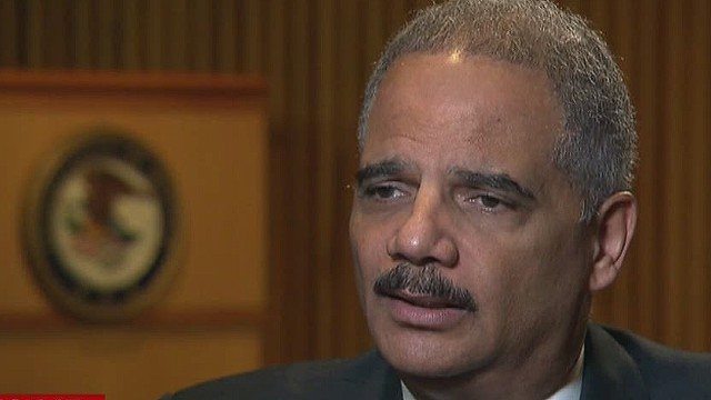 Eric Holder reveals his biggest failure