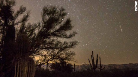 Orinoid Meteor Shower Visible Sunday Morning, If Today's Showers Clear Out