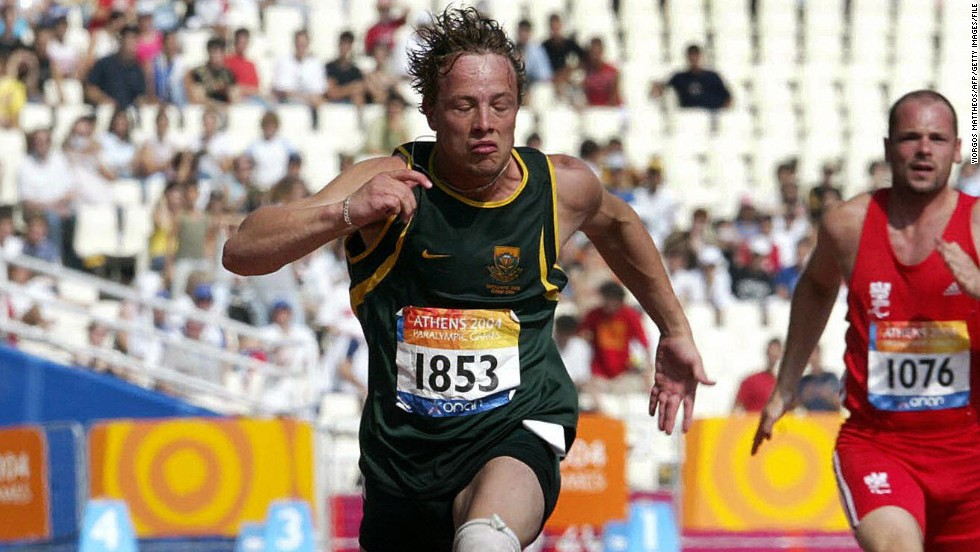 Athens 2004 was the first time Pistorius competed in the Paralympic Games, also winning his first gold medal in the 200m for T44 category athletes. He also bagged a bronze in the 100m event.