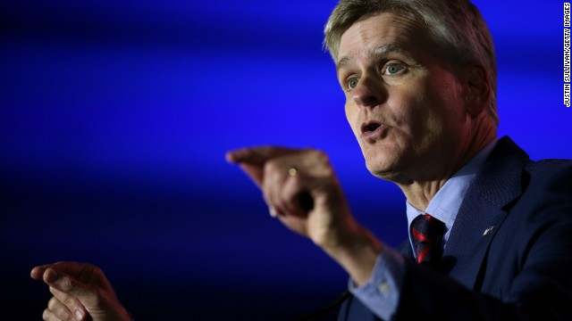 Bill Cassidy, republican candidate in 2014 for U.S. Senator from Louisiana, speaks during the final day of the 2014 Republican Leadership Conference on May 31, 2014 in New Orleans, Louisiana.