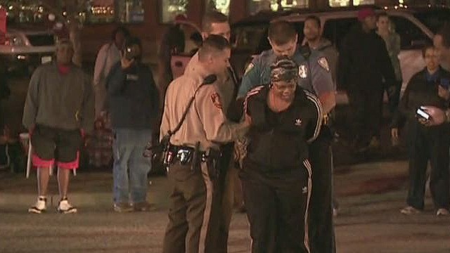 Protesters remain out in Ferguson