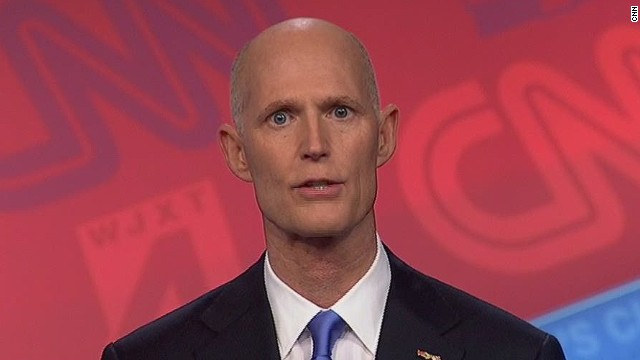 Gov. Scott discusses Trayvon Martin case