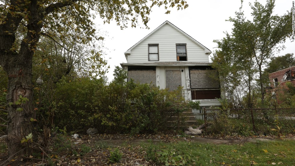 This home on Gary's Massachusetts Street is another property that police said Vann led them to.