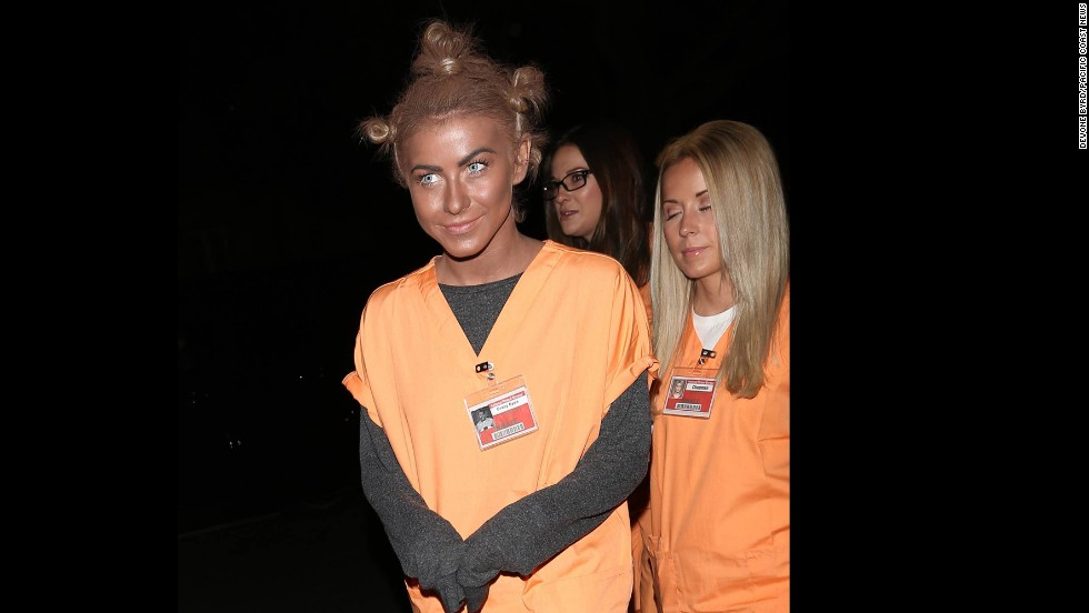"Rule 1: No blackface. Actress and dancer Julianne Hough learned this rule the hard way when she <a href=""http://www.cnn.com/2013/10/29/showbiz/celebrity-news-gossip/julianne-hough-blackface-dwts/"">dressed</a> as ""Orange is the New Black"" character ""Crazy Eyes"" for Halloween in 2013. ""It certainly was never my intention to be disrespectful or demeaning to anyone in any way. I realize my costume hurt and offended people and I truly apologize,"" Hough said via Twitter."