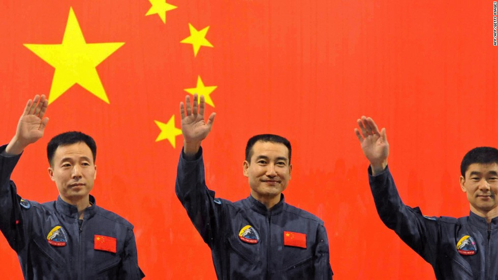 China's third manned space mission in September 2008 included its first space walk. <br />