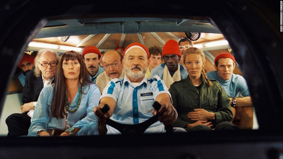 "In ""The Life Aquatic with Steve Zissou"" (2004), another Wes Anderson film, Murray plays a Jacques Cousteau-type undersea adventurer."