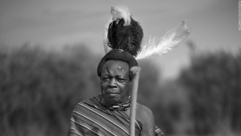 Tribes and kingdoms vary too in their relationship with the local government. The Jie, for instance, often clash with the ruling Ugandan government, who aren't always sympathetic to their nomadic traditions. <br /><em><br />Lochoro Samuel, <em></em>Karamoja, Uganda</em>