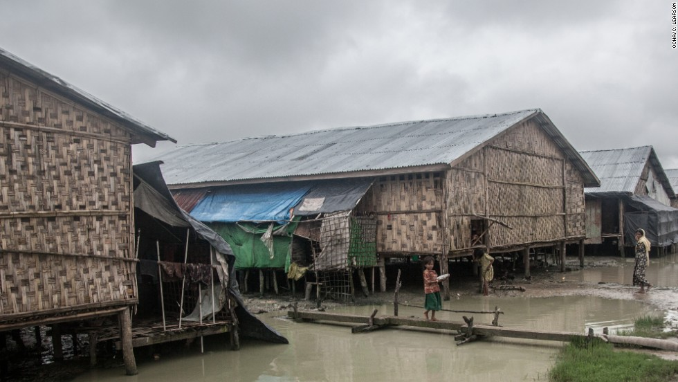 The people in Nget Chaung are completely isolated. The camp is only accessible by boat, taking between 1.5 to 4 hours to reach depending on tides.