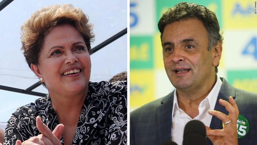Economic divide key in Brazil election  - CNN Video