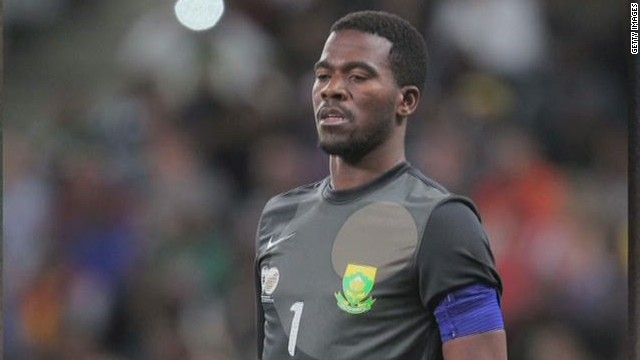 South African soccer player shot dead