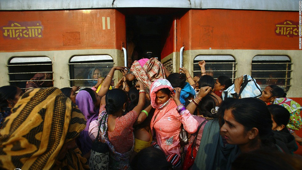 Despite the presence of women-only train carriages, women on New Delhi transport feel unsafe because of a lack of respect, says the report. It's one of the world's most dangerous cities for women to travel alone at night on transit.