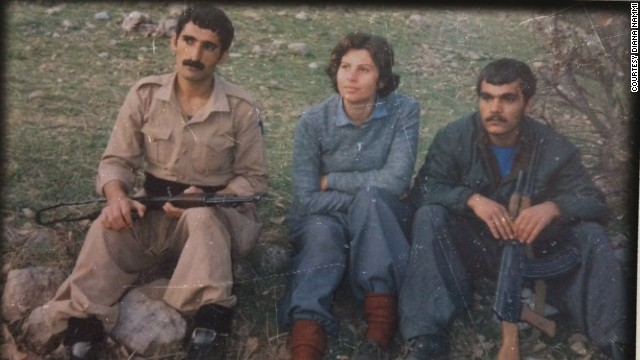 Former Peshmerga Diana Nammi was one of the first women to fight on the front lines.