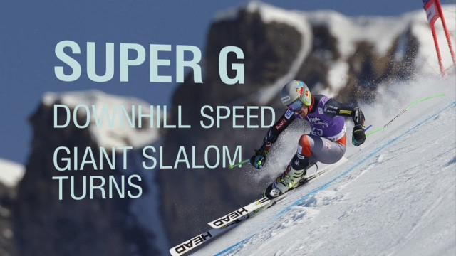 The four disciplines of  Alpine Skiing
