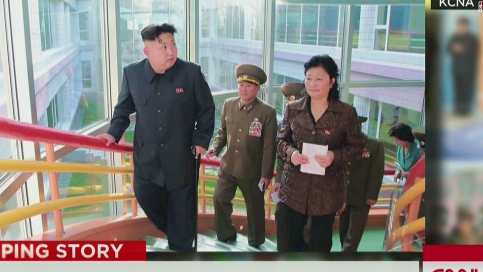 South Korea: Kim Jong Un had ankle surgery to remove cyst