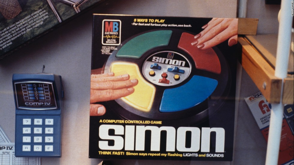 Simon came out in 1978 and was one of the first popular games based on computer programming.